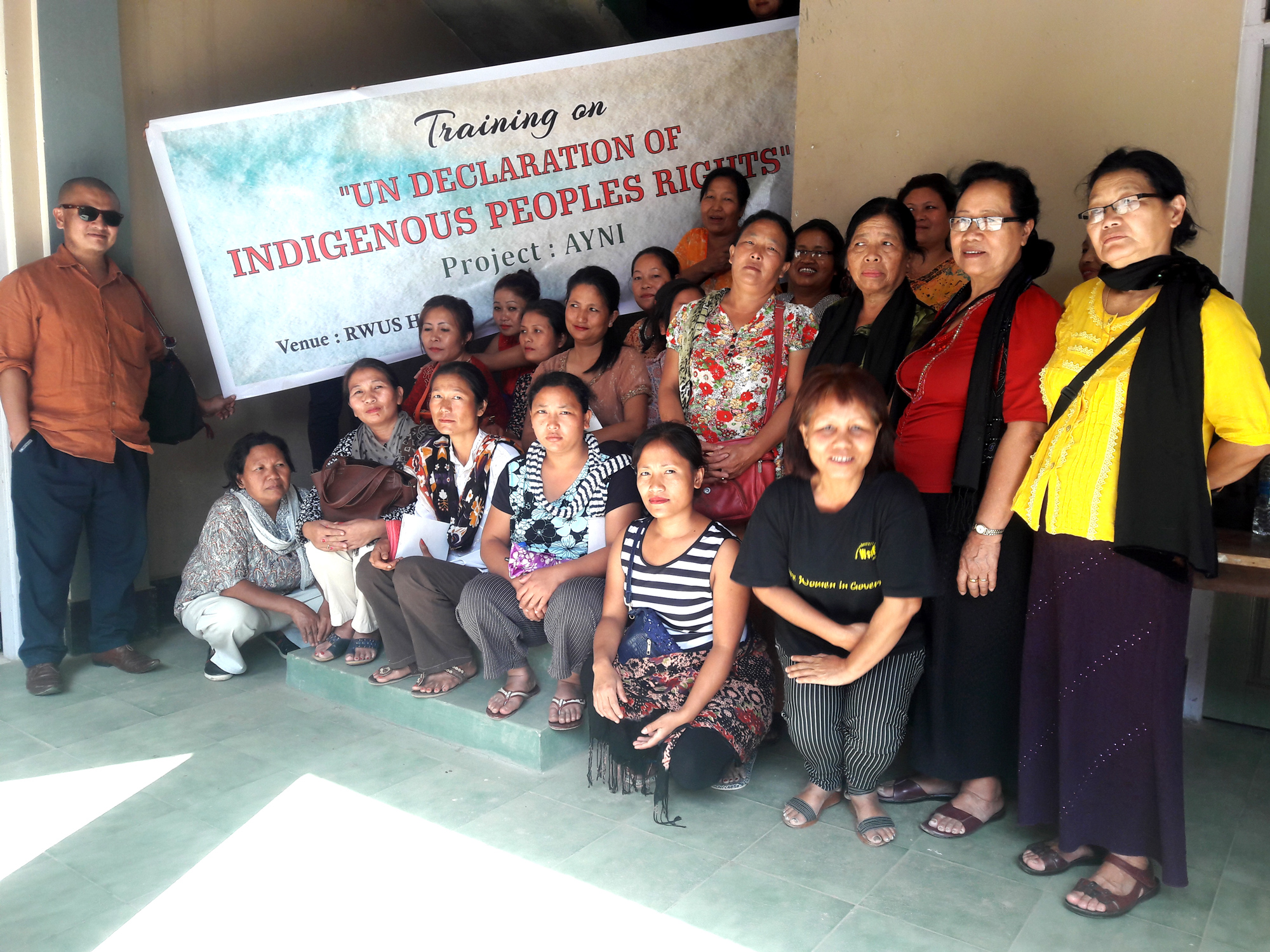 Training on Declaration on Indigenous Peoples Group Photo