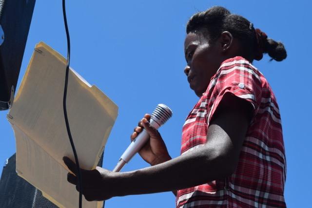 Protest Speaker