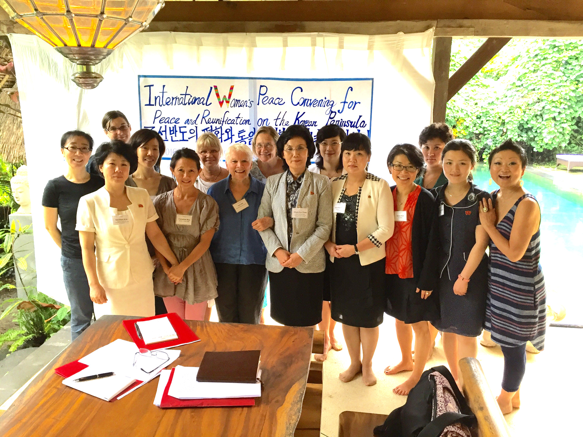 Women Cross DMZ Conference in Bali