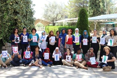 Bring back our girls workshop in Beruit