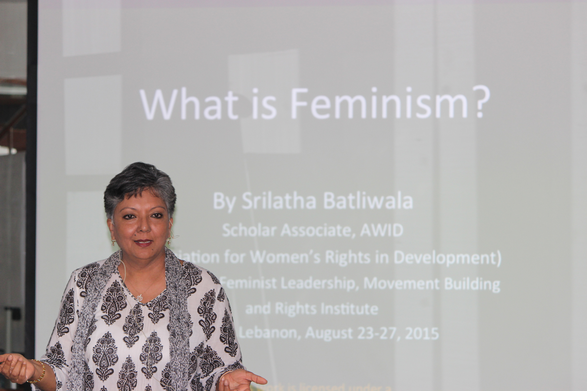 FLaMBaRI feminism presentation