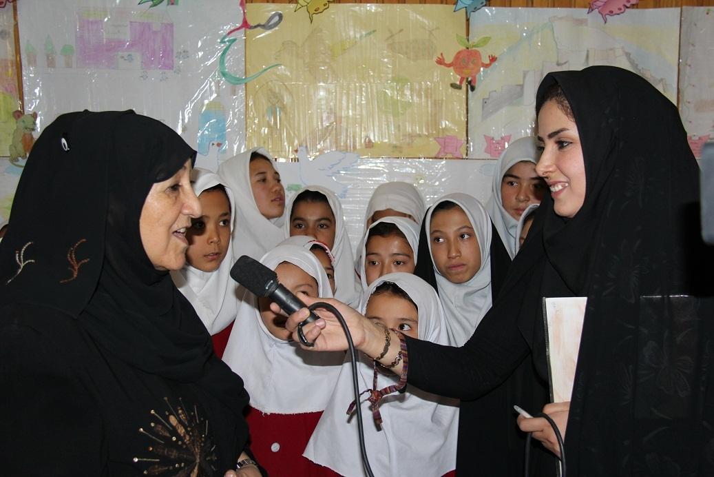 Interviewing Dr. Sakena Yacoobi