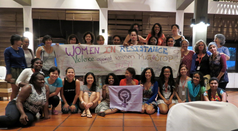 Women in Resistance group banner