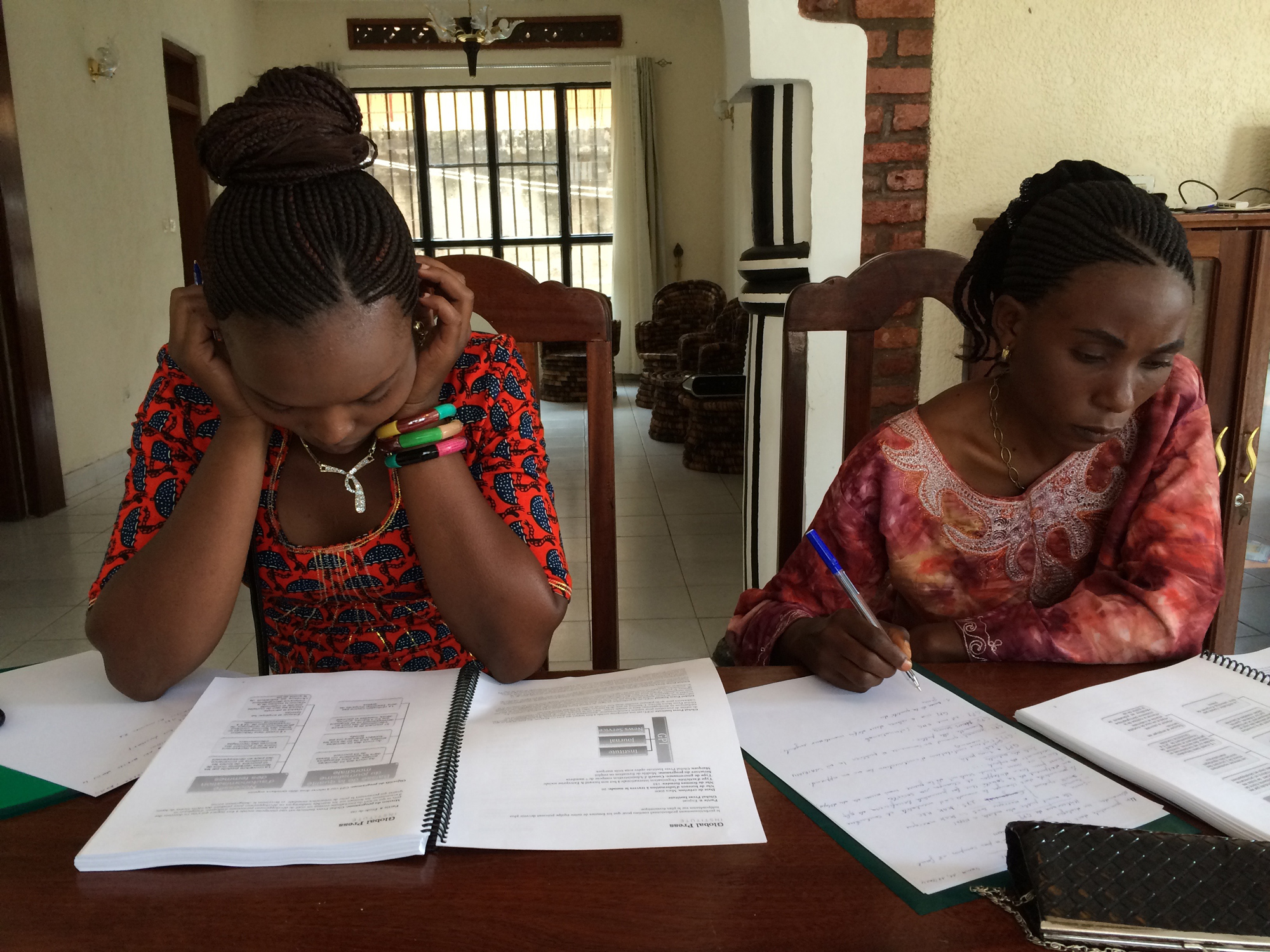 GPI Female Students Studying