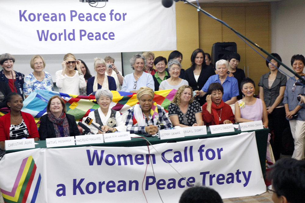 Women Call for Korean Peace Treaty