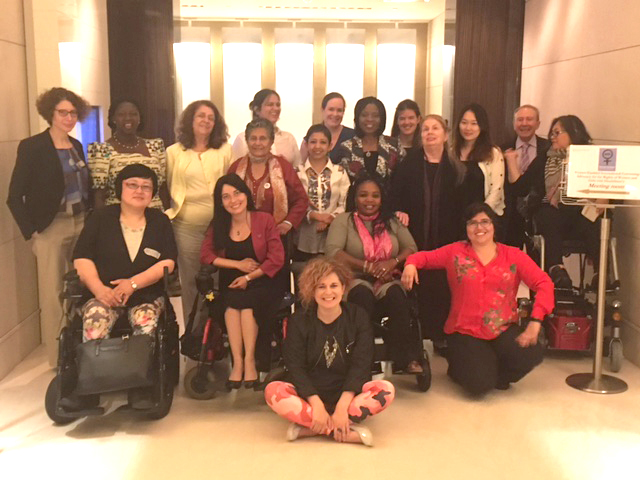 Photo WEI Convening of disabled women's rights Advocates training on UN human rights advocacy strategies, July 11-14, 2016 Geneva, Switzerland