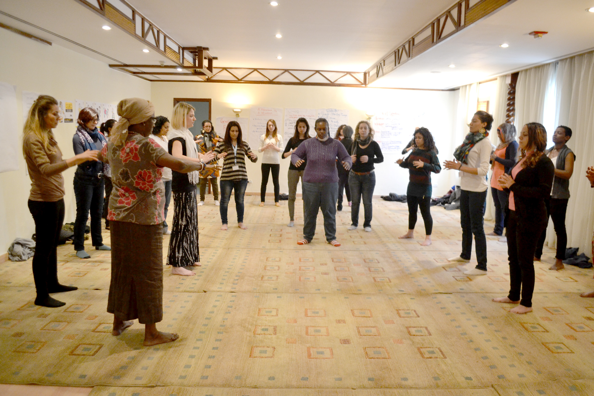 Self-Care Workshop in Cairo