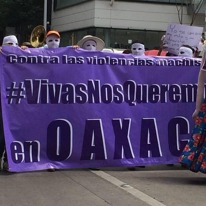 Vivas nos queremos en Oaxaca 2016
