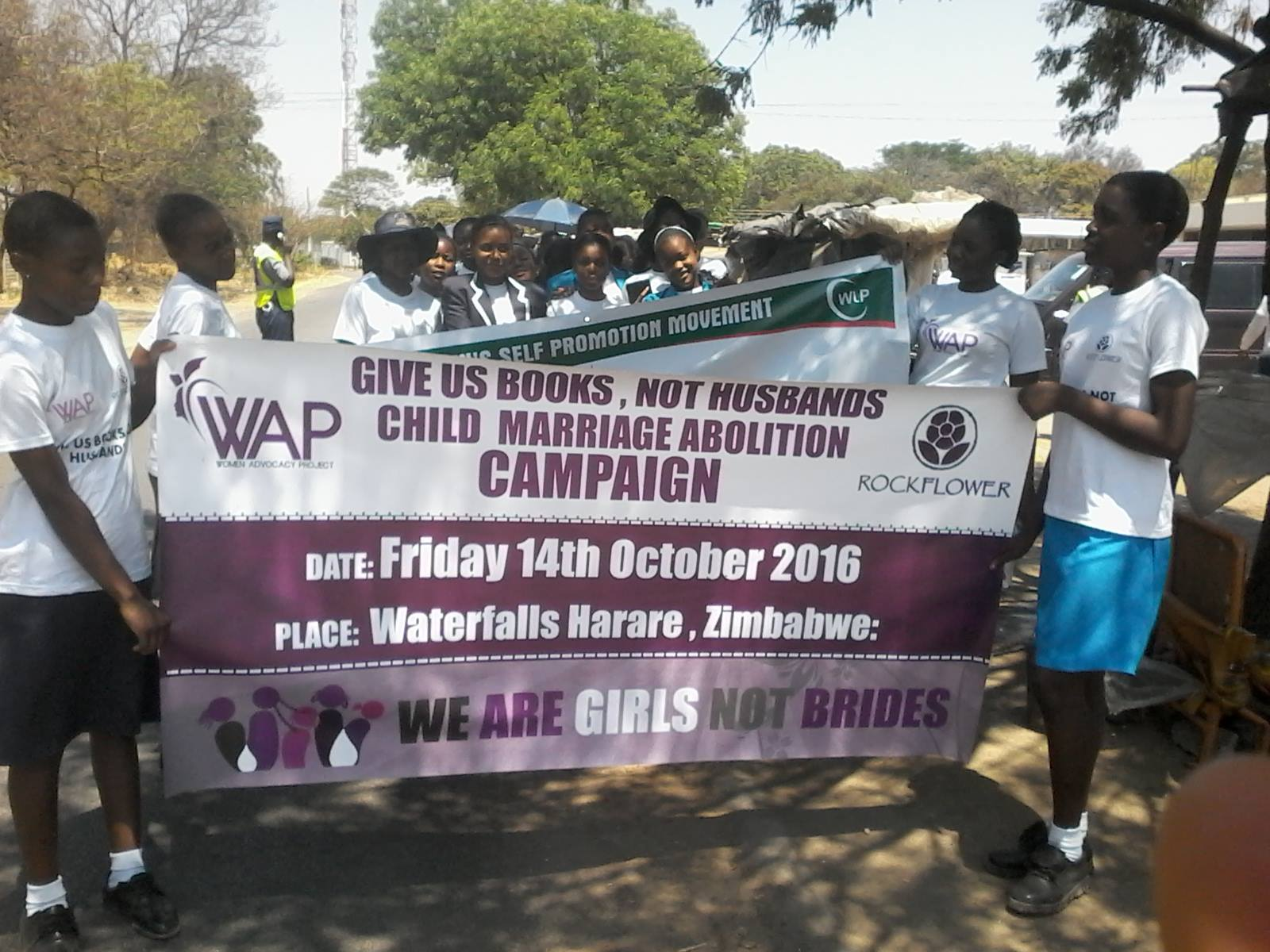 Protesting Child Marriage