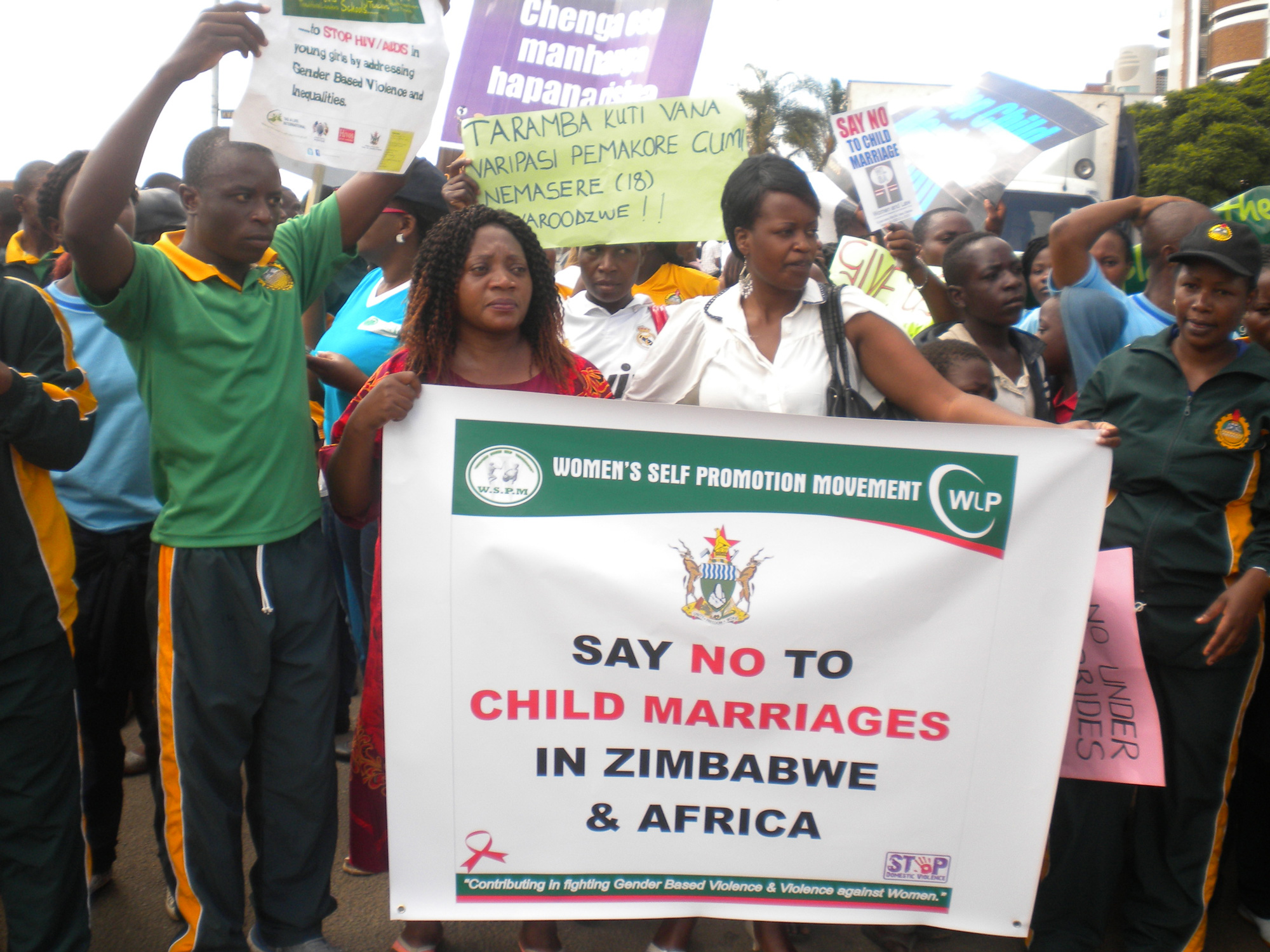 Child Marriage Protest