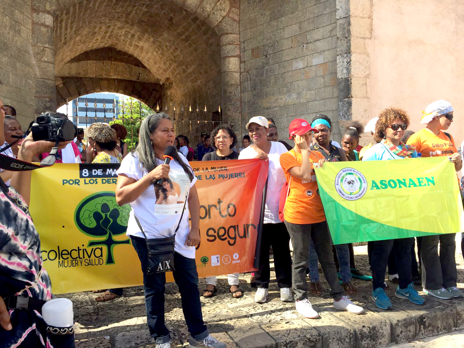 WLW demonstration in Dominican Republic