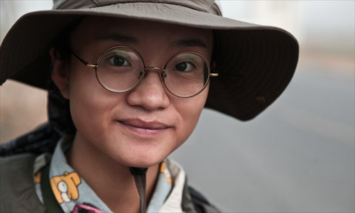 UAF participant Xiao Meili portirat