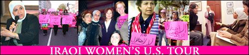 CODEPINK Iraqi US World Tour