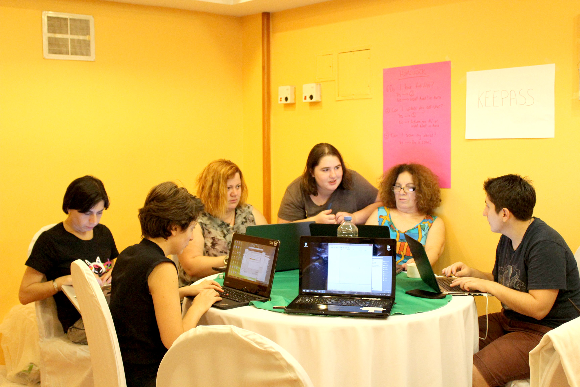 Digital Security Training for Women