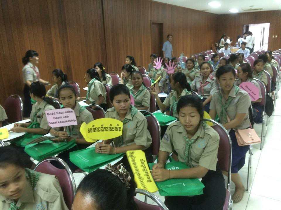 Seed Grant sponsored gathering in Cambodia