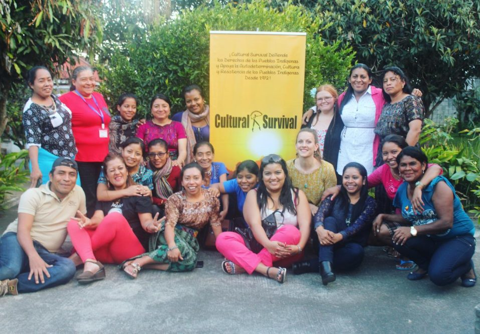 Indigenous women community radio workshop