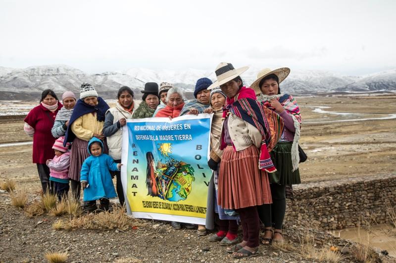 Red Nacional de Mujeres en Defensa de la Madre Tierra, Bolivia