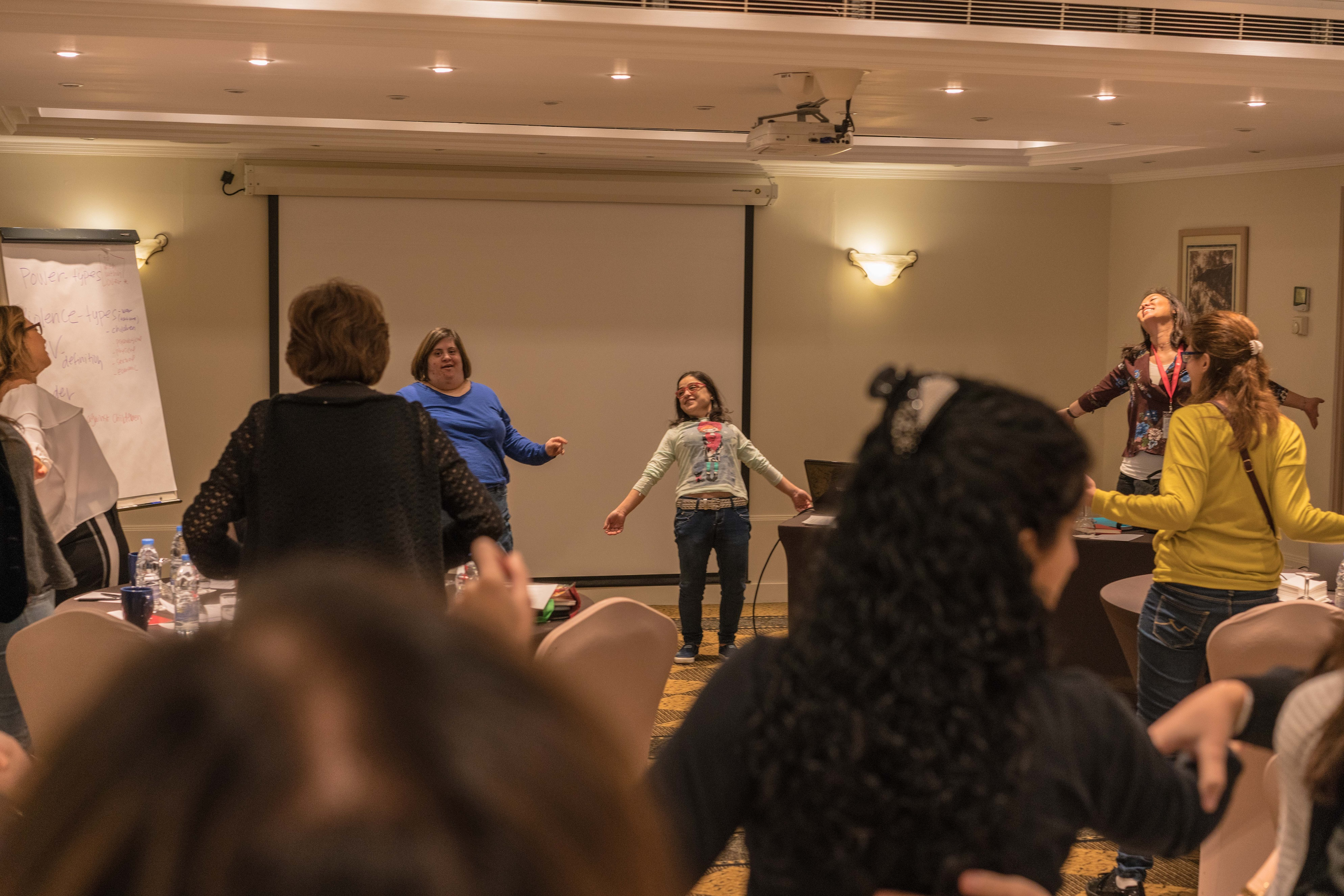 WRC workshop on gender based violence in Lebanon