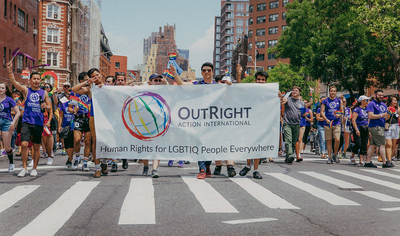 OutRight at the NYC Pride Parade