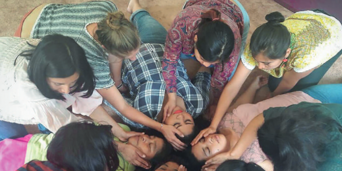WHRDs engaging in collective healing