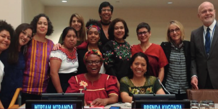 IM-Defensoras at the 20th anniversary of the UN Declaration on Human Rights Defenders