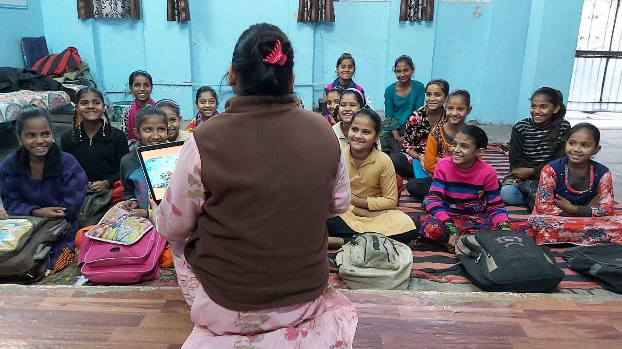 Bharti Singh Chauhan, India, World Pulse Digital Ambassador - Training girls on Digital Empowerment