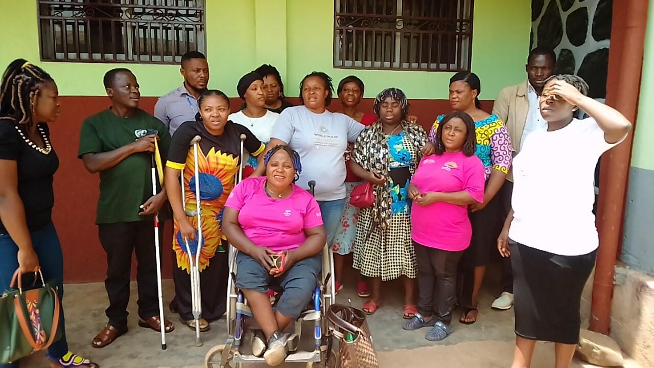 Veronica Ngum, Cameroon, Digital Ambassador and Featured Changemaker: Women and girls with disabilities after a World Pulse Ambassador event