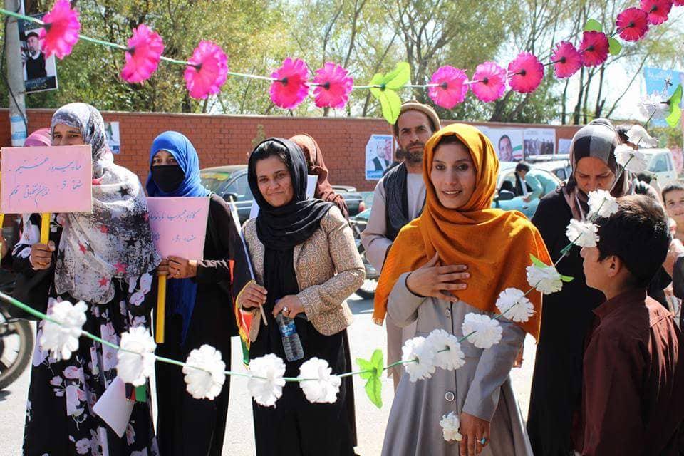Mina's List Aspiring Candidate in Kapisa Province, Afghanistan