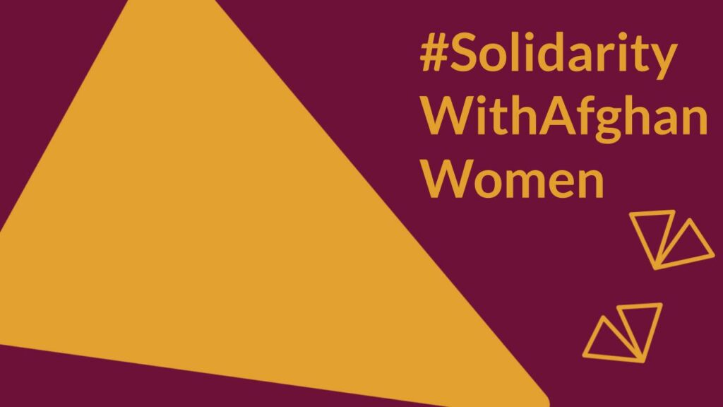 Solidarity with Afghan Women